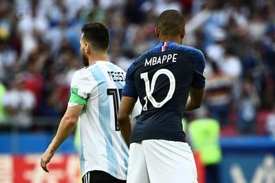 【写真特集】エムバペ大車輪の活躍、フランス対アルゼンチン