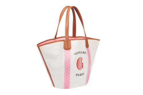 ピンクの限定ゴヤールディンも、「ゴヤール」伊勢丹新宿店でイベント