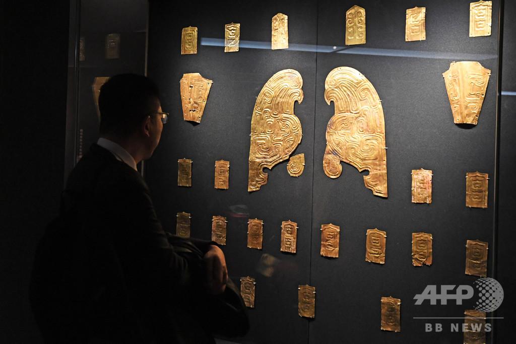 秦時代早期の文化財展、黄金の装飾品など展示 蘭州