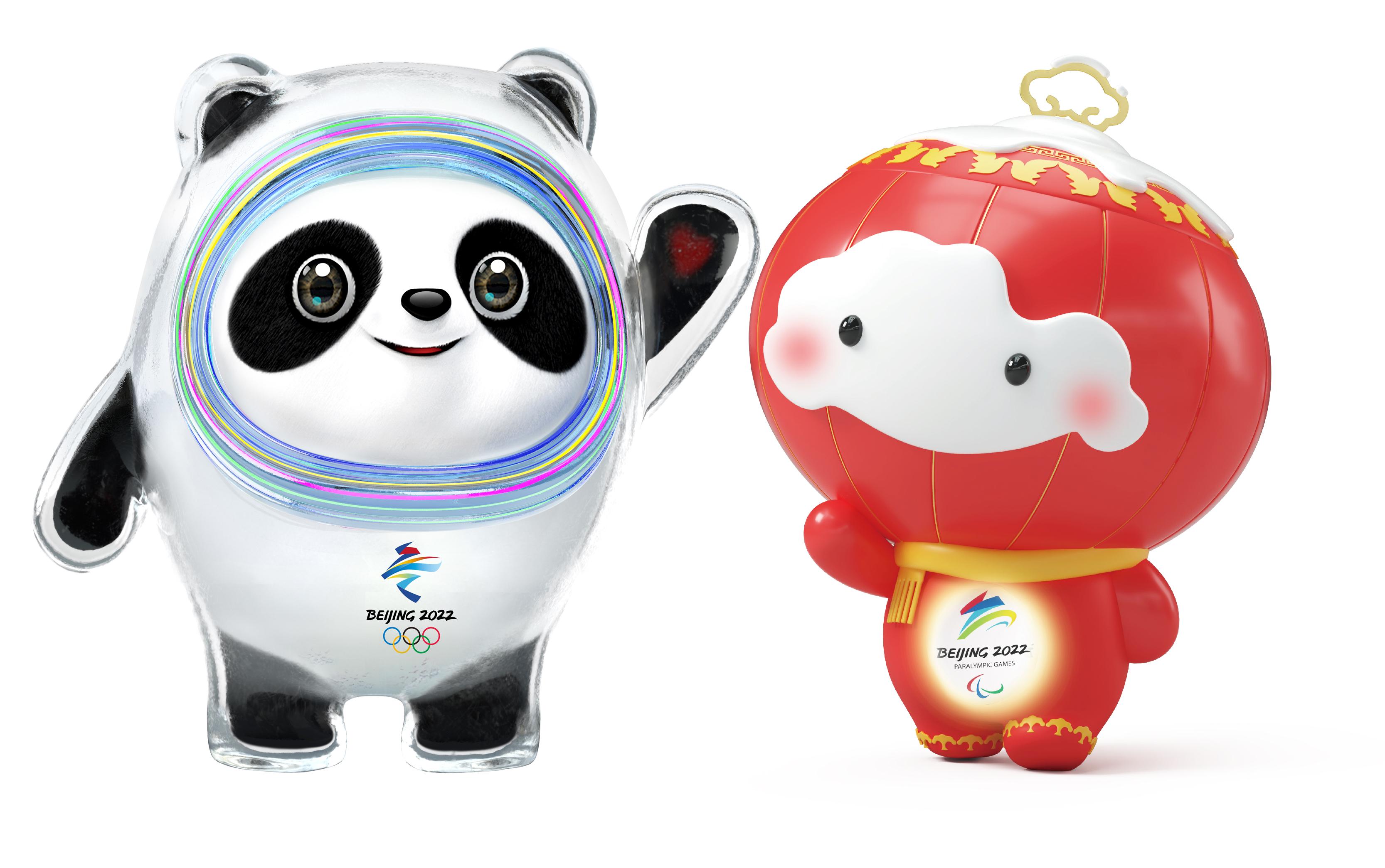 北京冬季五輪・パラのマスコット発表