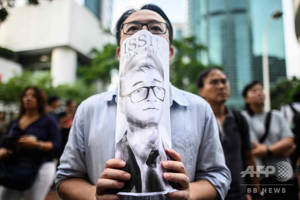 香港の英総領事館職員「売春関与で拘束」 中国報道を家族が非難