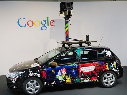 グーグル「ストリートビュー」車両、Wi-Fi経由で個人情報を誤収集