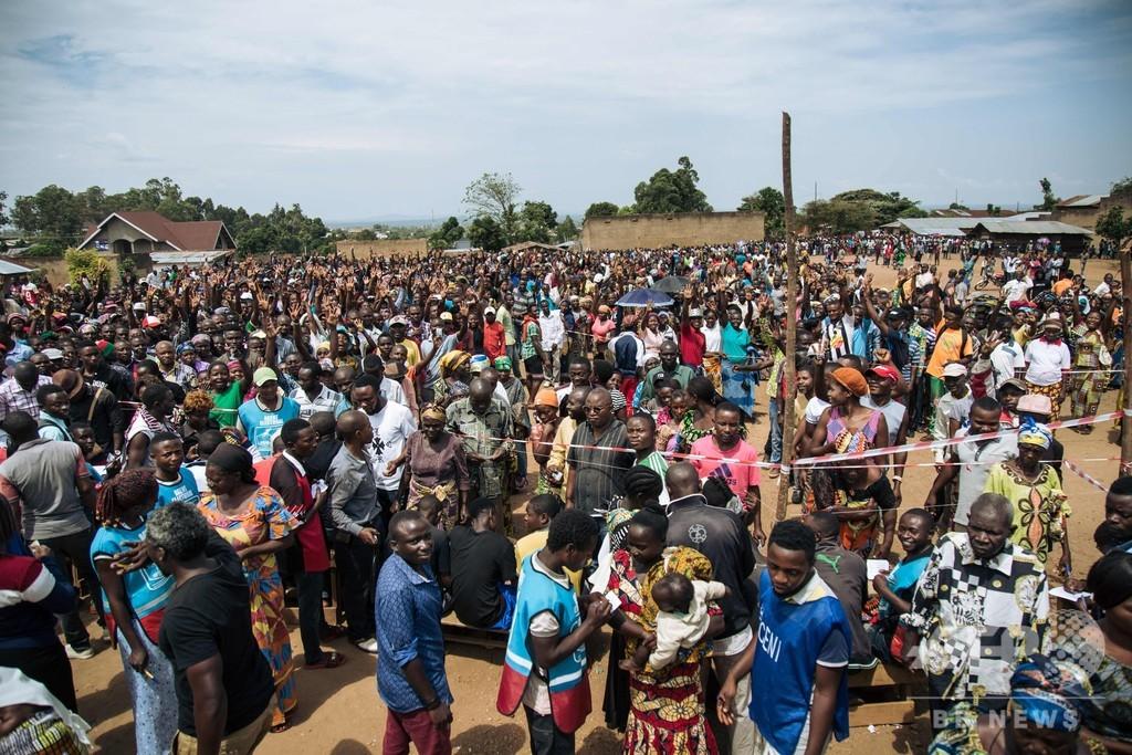 コンゴ民主共和国で2年越しの大統領選 初の平和的政権移行なるか