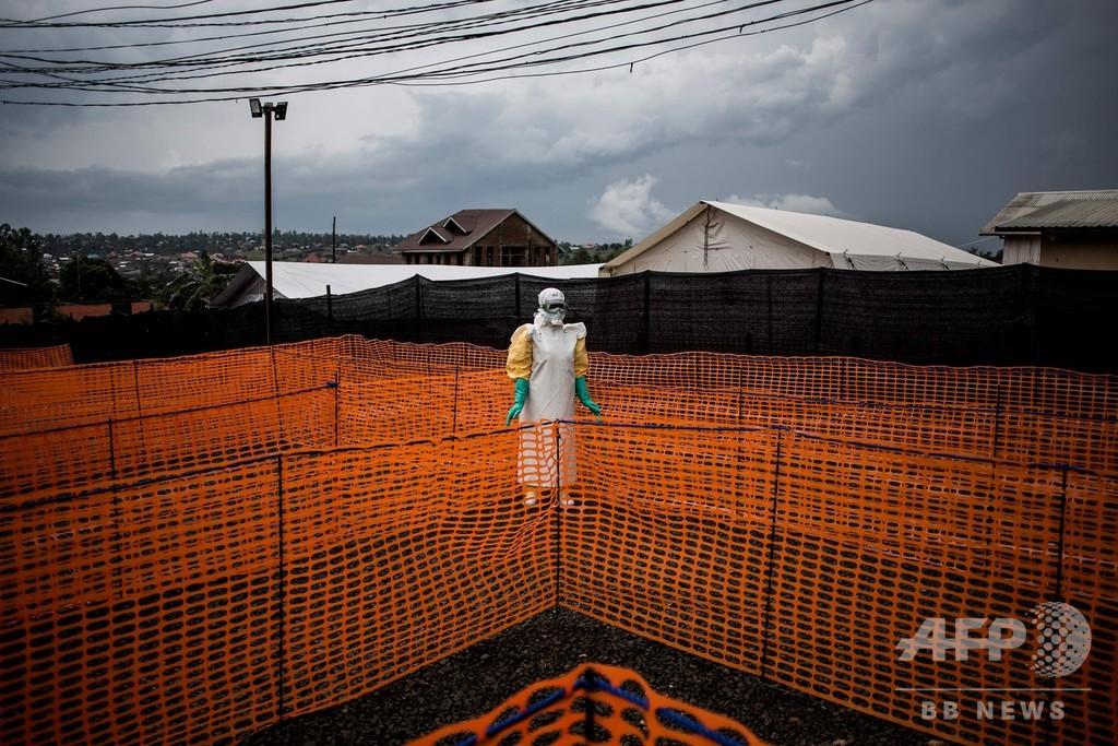 エボラ出血熱で新たな患者、終息宣言見送り コンゴ民主共和国