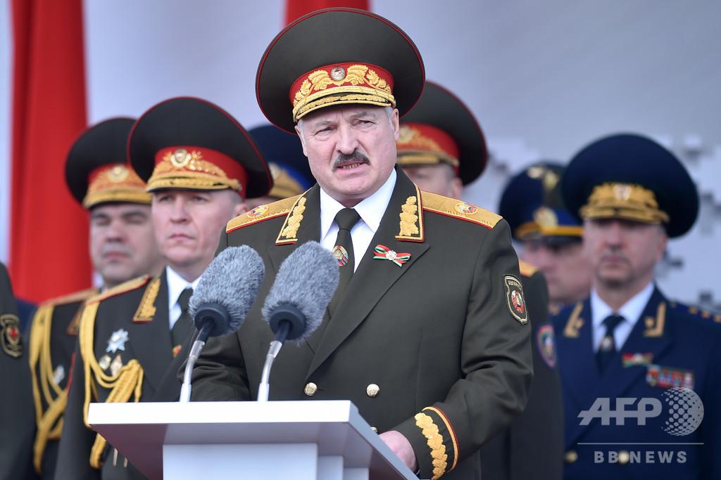 ベラルーシ、「ロシアの傭兵」32人拘束 ロに説明要求