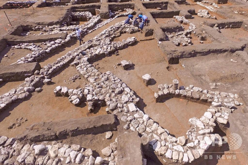 5000年前の古代都市の遺跡発掘 イスラエル