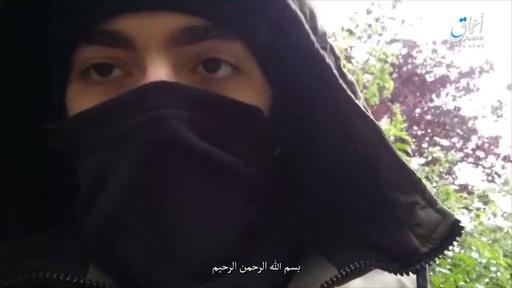 動画:パリの刃物男がISに忠誠誓う? 傘下の通信社が動画公開