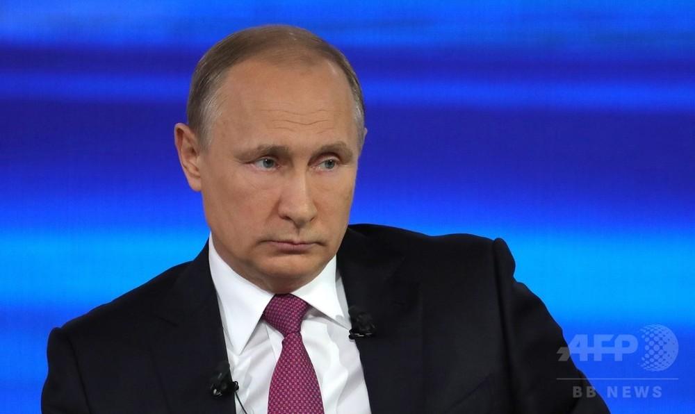 プーチン大統領、北朝鮮めぐる「大規模な衝突」を警告
