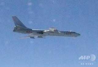 中国爆撃機、米国などへの攻撃想定し訓練か 米国防総省報告書