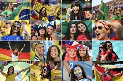 【写真特集】W杯ブラジル大会の「美人」サポーター