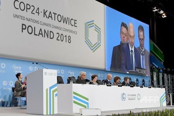 COP24開幕、気候変動の「差し迫った脅威」への対応を模索
