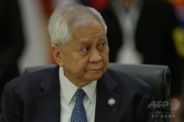 フィリピン外相、戦後の日本は信頼できる友好国