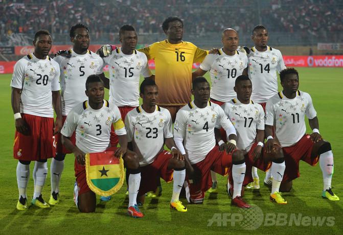 ガーナのW杯代表候補26人が決定 ...