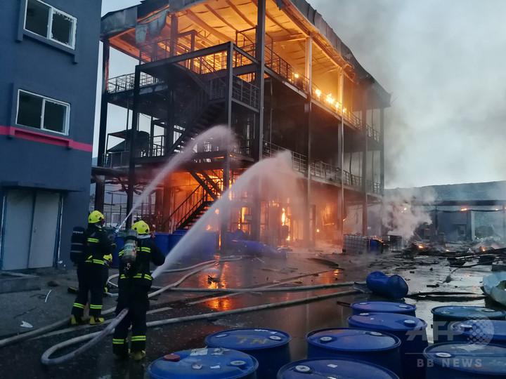 四川の工業区で爆発事故 19人死亡