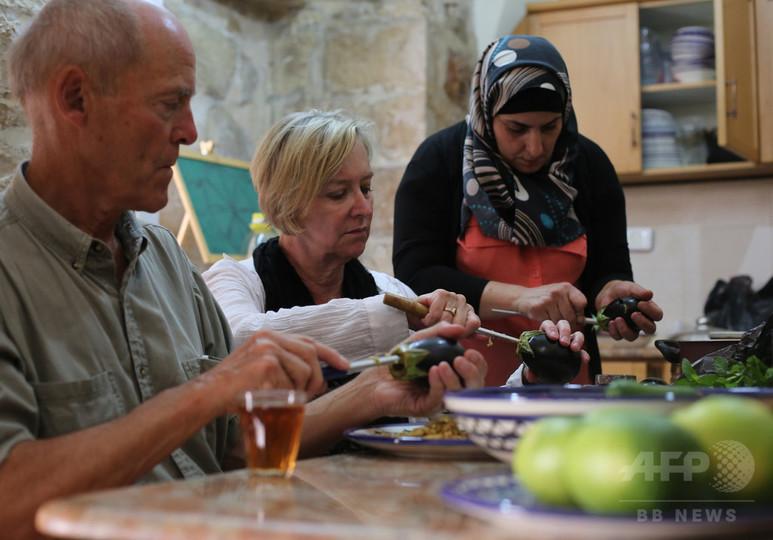 伝統料理で抵抗、あるパレスチナ人女性の試み