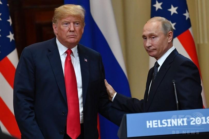 トランプ氏、プーチン氏の訪米招請 今秋の会談に向け協議