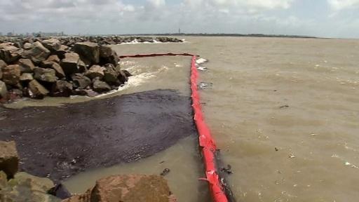 動画:ブラジル北東部に大量の原油、130か所超える海岸に漂着 現地の映像