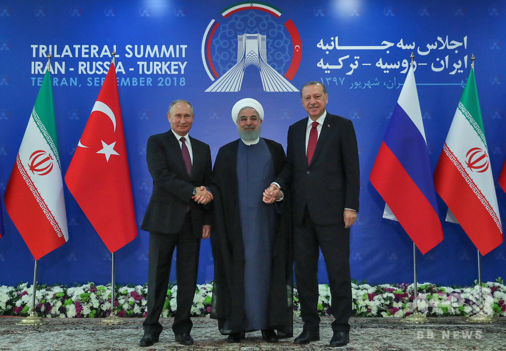 イラン、ロシア、トルコがシリア内戦で協議 溝埋まらず 写真3枚 国際 ...