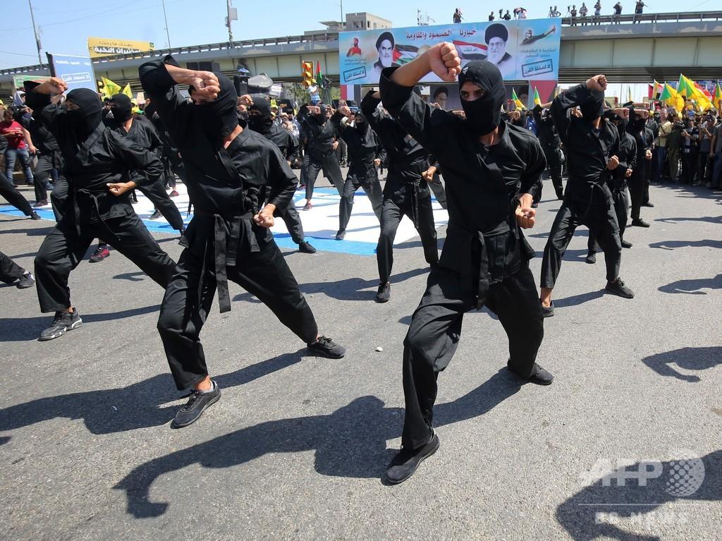 米国、イラクの親イラン派武装組織に攻撃 戦闘員19人死亡