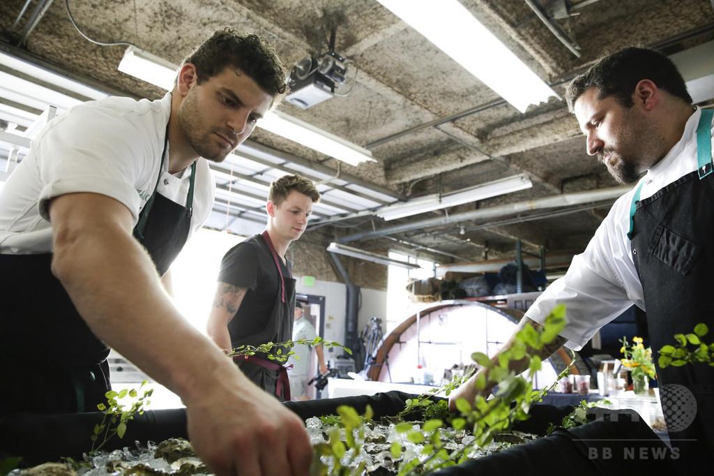 大麻で料理を新たな高みへ、米カリフォルニア州のシェフの挑戦