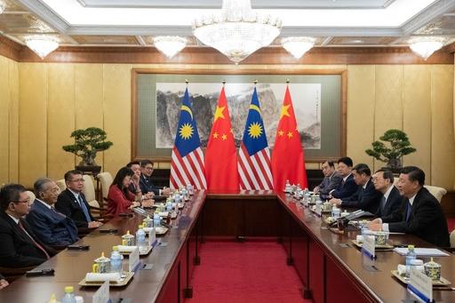 「新たな植民地主義」いらぬ マレーシア首相、中国けん制