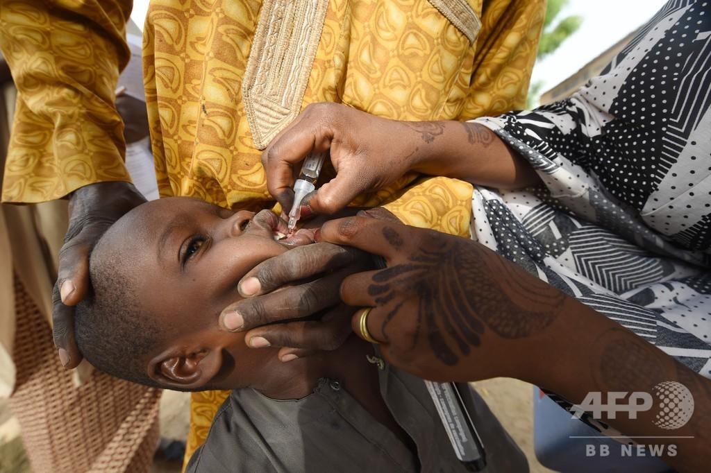 アフリカでポリオ根絶 WHOが宣言