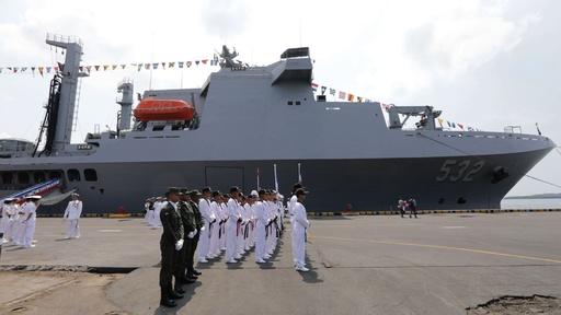 動画:台湾海軍の軍艦3隻、ニカラグアに寄港 中米諸国との関係強調