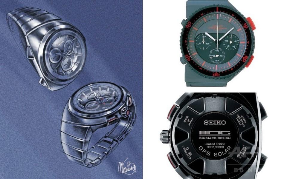 「セイコー アストロン」 イタリア工業デザイン界の巨匠が手掛けた先進のクロノグラフが登場