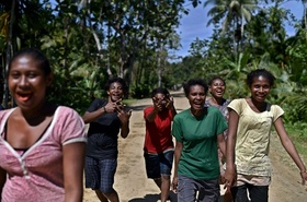 ちょこっと旅気分、パプアニューギニア
