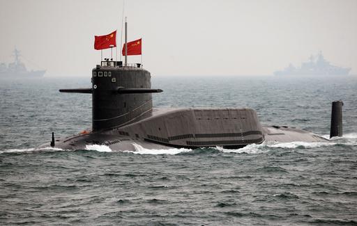 中国海軍創設60周年で国際観艦式、国産原潜も初公開