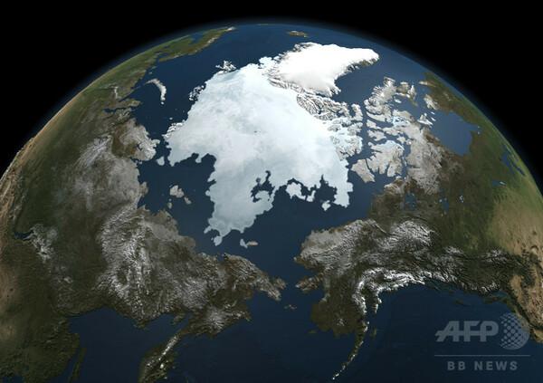 北極の異常な高気温、気候変動の「悪循環」が拍車