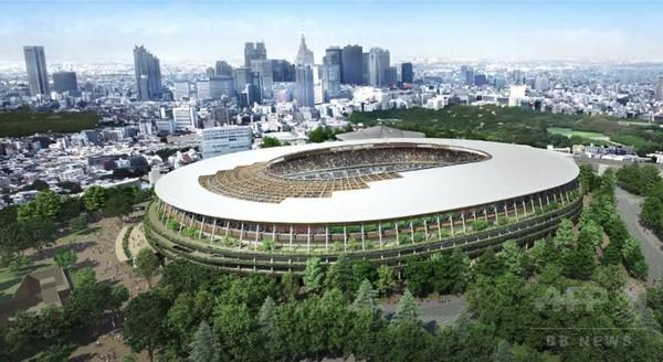 新国立競技場のデザインが決定
