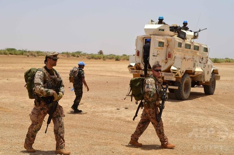国連平和維持軍兵士ら5人死亡、マリで襲撃