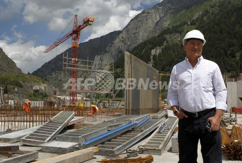 エジプト大富豪の一大計画、スイスの村を豪華リゾート地へ