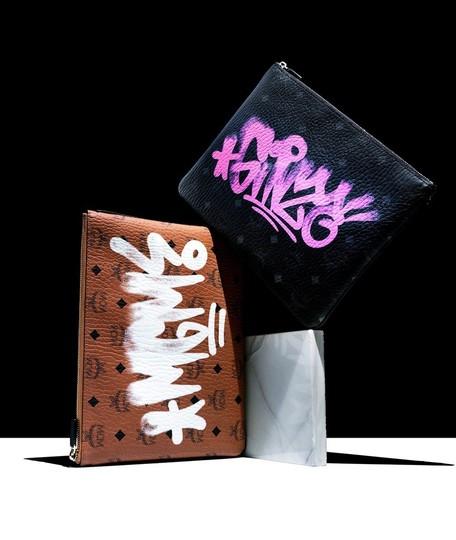 MCM×ファッション誌「GINZA」、コラボポーチに注目