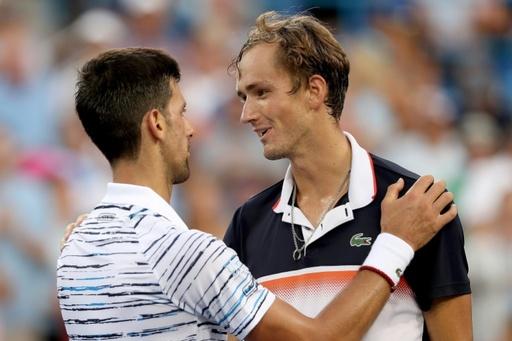 メドベージェフが前回王者ジョコに勝利、ゴフィンとの決勝へ W&Sオープン