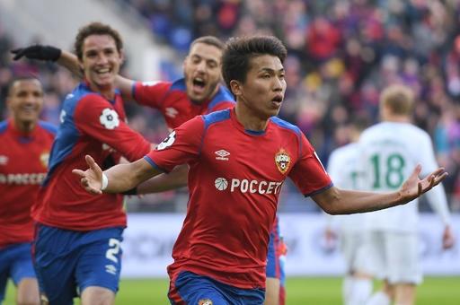 CSKA西村がロシアで初得点、チームの勝利に貢献