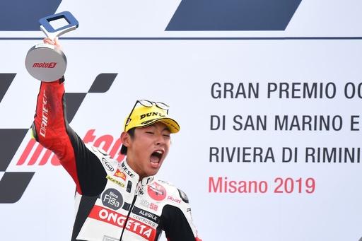 鈴木竜生がMoto3クラスでキャリア初優勝、サンマリノGP