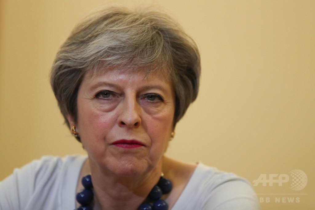シリア攻撃、英仏首脳も発表