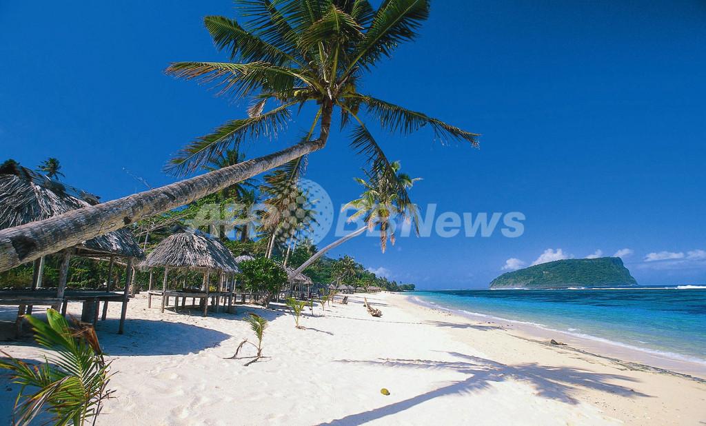 南太平洋サモアでM8.0の強い地震、少なくとも28人が死亡か