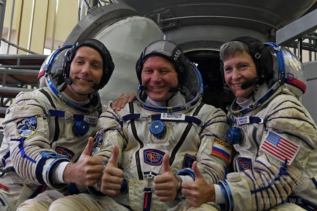 3飛行士と「フォアグラ」搭乗の宇宙船、ISSに向け打ち上げ成功