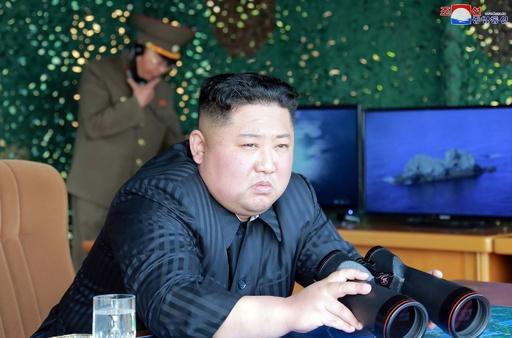 北朝鮮、4日の飛翔体発射はロケット砲などの「攻撃演習」 KCNA