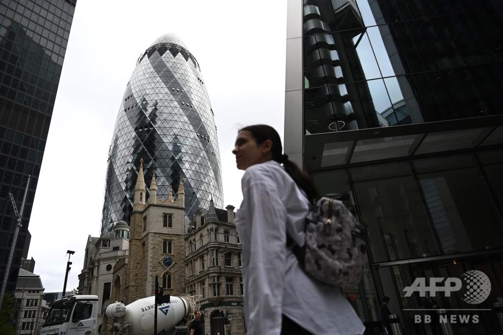 ロンドン金融街「シティー」がゴーストタウン化、戻らないオフィスワーカーら 英