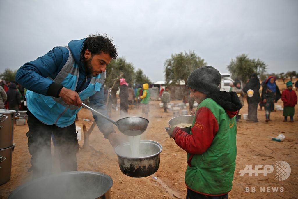 【アラブ報道レビュー】シリア、食料不足で「大惨事」に直面