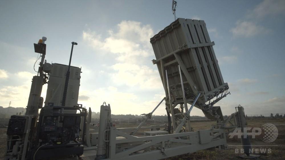 動画:イスラエル国防軍、対空防衛システムのバッテリー配備の映像公開