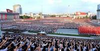 平壌で大規模集会、北朝鮮政府の対米姿勢を支持