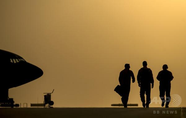 米軍がイラク西部で空爆、イスラム国を標的