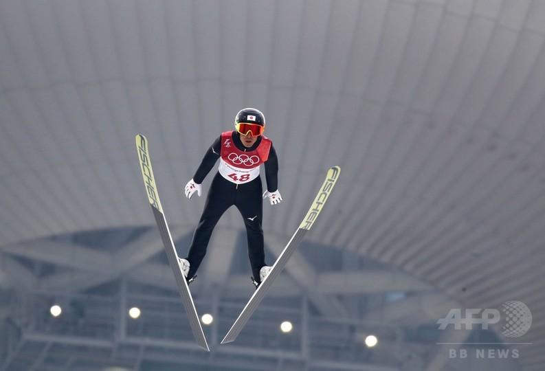 渡部が2大会連続でノルディック複合NH銀メダル、平昌五輪