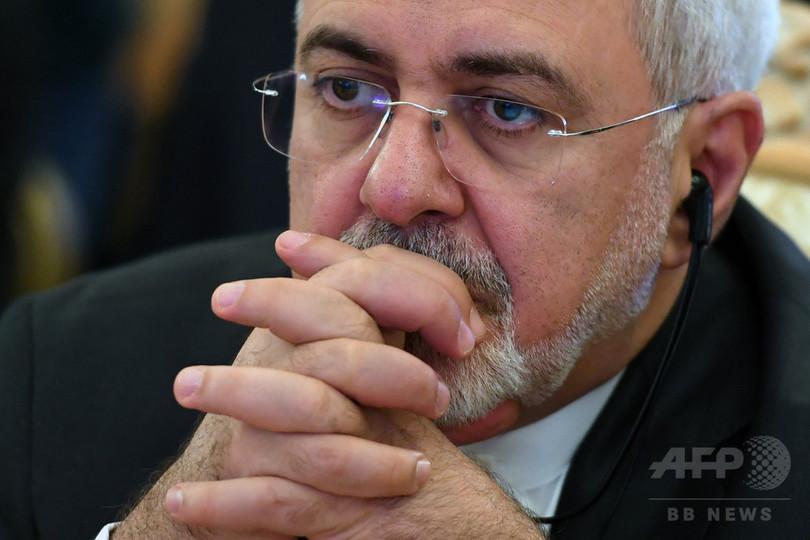イラン外相、中ロ英仏独と相次いで会談へ 米の核合意離脱受け