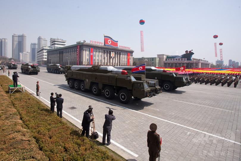 北朝鮮、金日成生誕記念日のミサイル発射に失敗